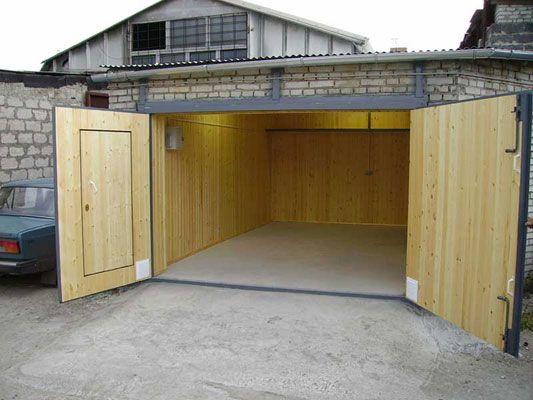 Как сделать гараже своими руками фото